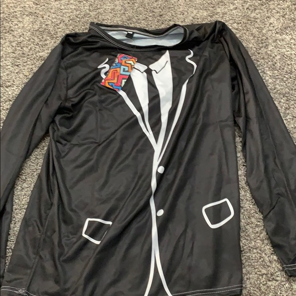Other - Fake Suit Long Sleeve Front And Back Same